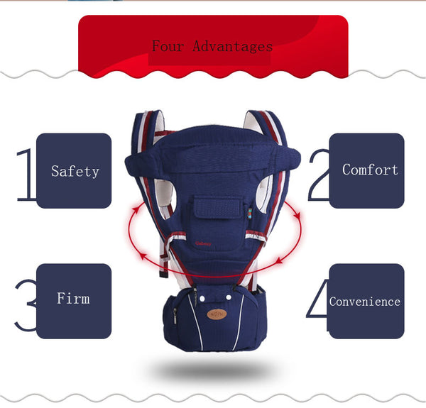 ERGONOMIC HIP SEAT BABY CARRIER - Luxury Goods Mall