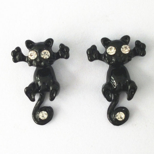 Hug Me  Kitty Studs™ - Luxury Goods Mall