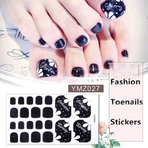 Instant Toe Nail Polish Sticker™ - Luxury Goods Mall