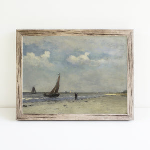 Boats by the Seashore | Printed Artwork | 7