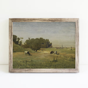 Cows Grazing | Printed Artwork | 46