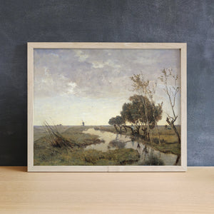 Fishing by the Mill | Printed Artwork | 12