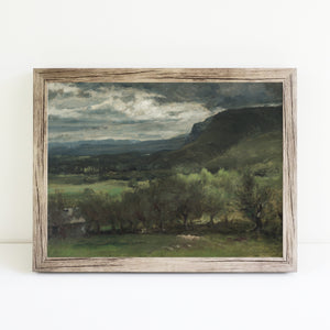 Green Hills and Trees | Printed Artwork | 47