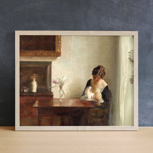 Nursing by the Window | Printed Artwork | 32