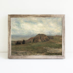 Rocks on a Plateau | Printed Artwork | 9