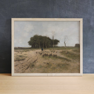 Sheep Herder | Printed Artwork | 14