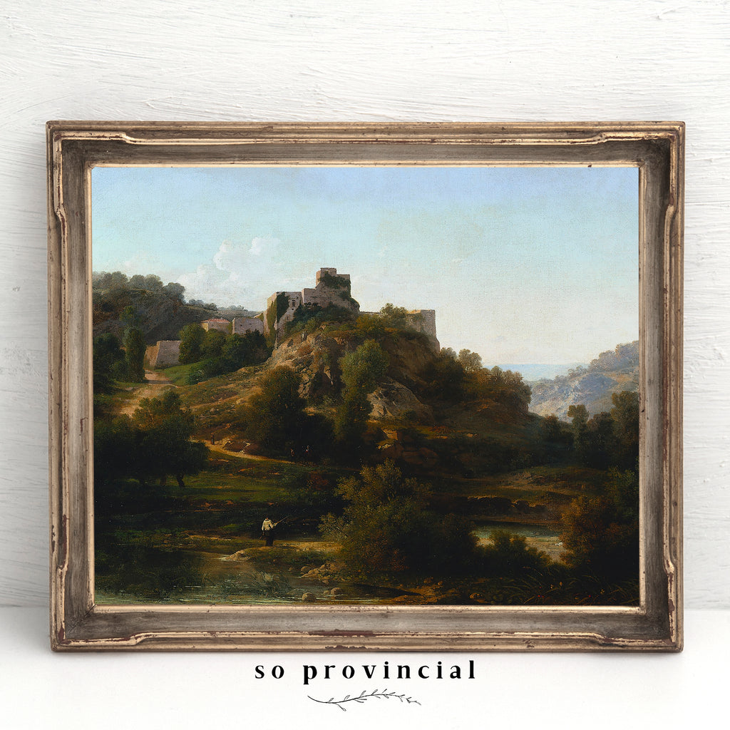 Stone City on a Hill | Printed Artwork | 50
