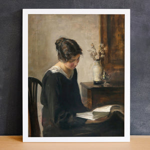 Woman Reading | Printed Artwork | 25