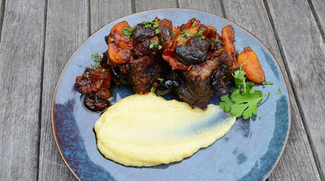 Beef Short Ribs w/ Parsnip Puree