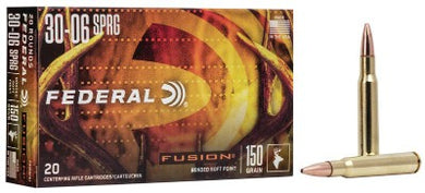Federal Fusion 30-06 Springfield 150gr SP