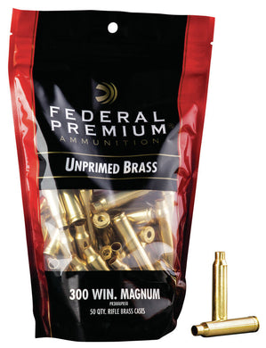 Federal 300 Win Mag. Brass - BLUE COLLAR RELOADING