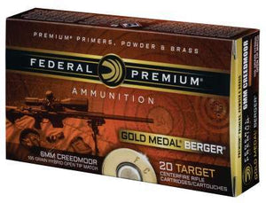 Federal Premium 6mm Creedmoor 105gr Hybrid Open Tip Match - BLUE COLLAR RELOADING