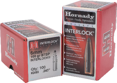 Hornady 6mm 100gr BTSP #2453 - BLUE COLLAR RELOADING