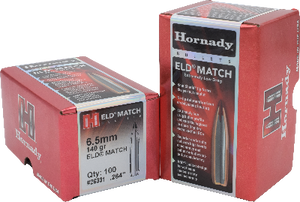 Hornady 6.5mm 140gr ELD-Match  #26331 - BLUE COLLAR RELOADING