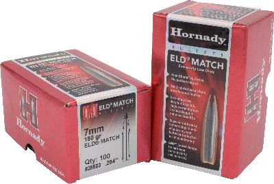 Hornady 7mm 180gr ELD-Match  #28503 - BLUE COLLAR RELOADING