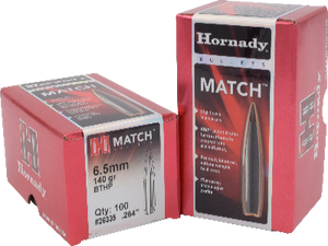 Hornady 6.5mm 140gr BTHP  #26335 - BLUE COLLAR RELOADING