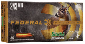 Federal Premium 243 Winchester 100 Grain Sierra GameKing - BLUE COLLAR RELOADING