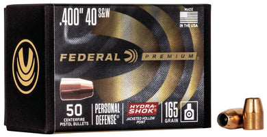 Federal Premium 40/10mm 165gr Hydra-Shok - BLUE COLLAR RELOADING