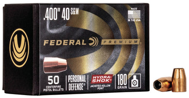 Federal Premium 40/10mm 180gr Hydra-Shok - BLUE COLLAR RELOADING