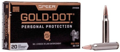 Speer Gold Dot 223 Rem 75gr SP