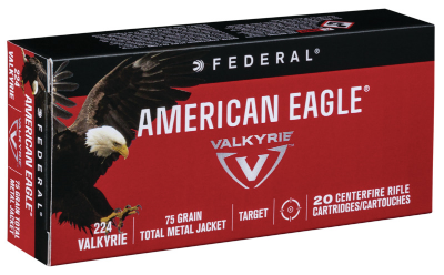 American Eagle 224 Valkyrie 75gr Total Metal Jacket - BLUE COLLAR RELOADING
