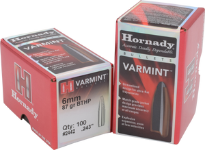 Hornady 6mm 87gr BTHP #2442 - BLUE COLLAR RELOADING