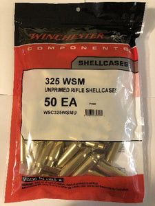 Winchester 325 WSM Brass - BLUE COLLAR RELOADING