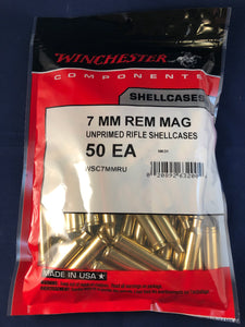 Winchester 7mm Rem Mag Brass - BLUE COLLAR RELOADING