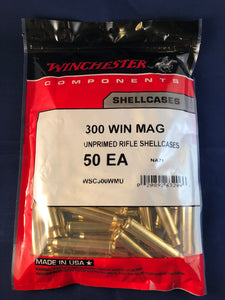 Winchester 300 Win Mag Brass