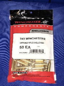 Winchester 243 Winchester Brass - BLUE COLLAR RELOADING