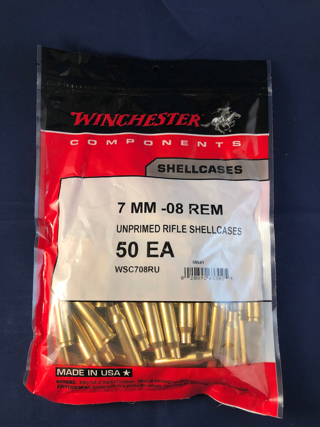 Winchester 7mm-08 Rem Brass - BLUE COLLAR RELOADING