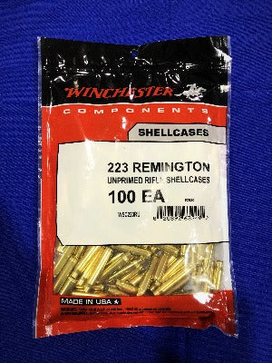 Winchester 223 Remington Brass - BLUE COLLAR RELOADING