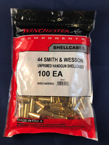 Winchester 44 Smith & Wesson Brass