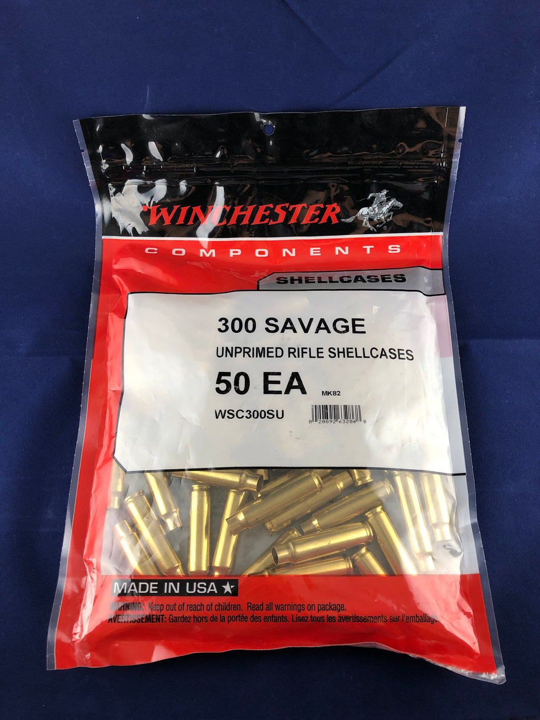 Winchester 300 Savage Brass - BLUE COLLAR RELOADING