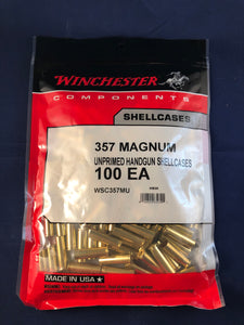 Winchester 357 Magnum Brass - BLUE COLLAR RELOADING