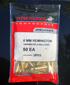 Winchester 6mm Remington Brass - BLUE COLLAR RELOADING