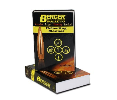 Berger Bullets 1st Edition Reloading Manual - BLUE COLLAR RELOADING