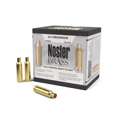 Nosler 6.5 Creedmoor Brass  #44824 - BLUE COLLAR RELOADING