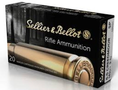 Sellier & Bellot 6.5 Creedmoor 140gr SP - BLUE COLLAR RELOADING