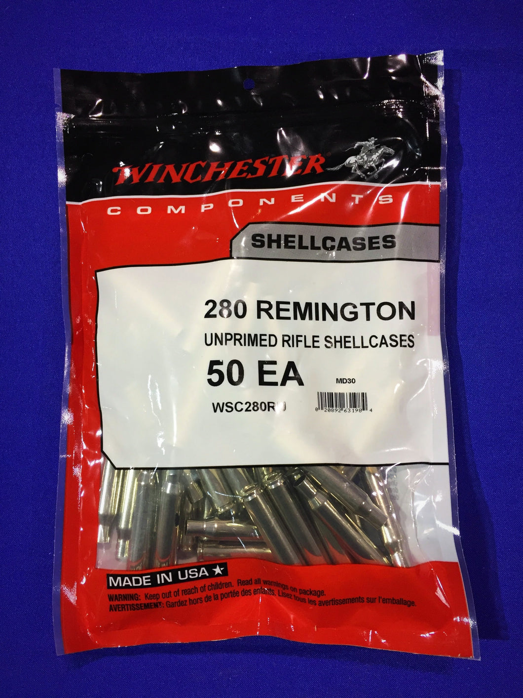 Winchester 280 Remington Brass