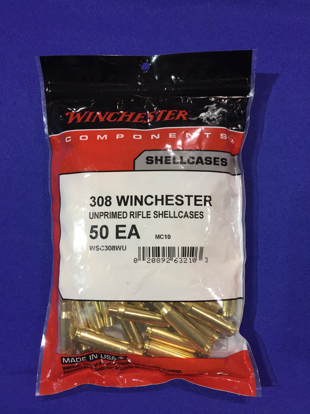 Winchester 308 Winchester Brass - BLUE COLLAR RELOADING