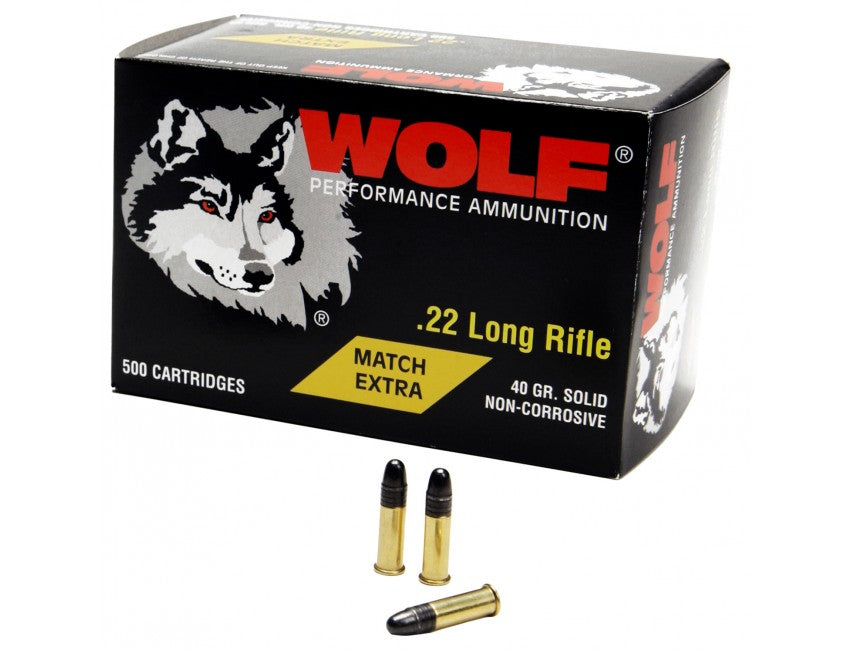 Wolf 22LR 40gr Match Extra - BLUE COLLAR RELOADING