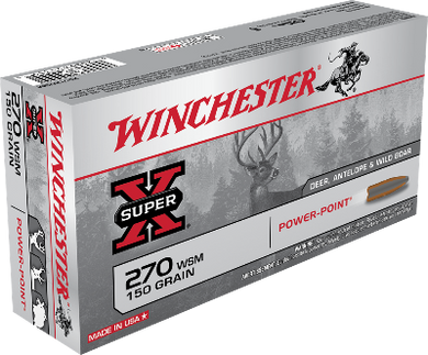 Winchester 270 WSM 150gr Power-Point