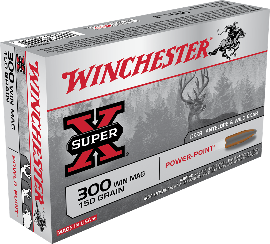 Winchester 300 Win Mag 150gr Power Point - BLUE COLLAR RELOADING