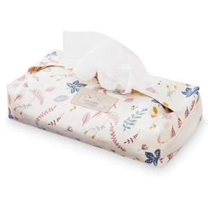 Cam Cam baby wipes cover - Pressed leaves rose