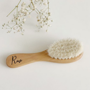 Wooden brush - Personalized