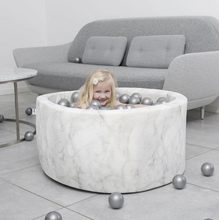 Loading image in Gallery view, MISIOO ball pool velor marble - around 90x40cm