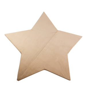 MISIOO foam play mat gold - star 160x5cm