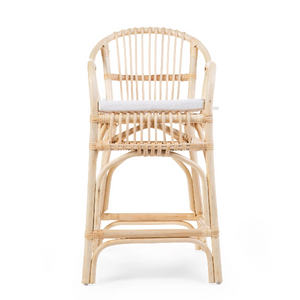Childhome montana junior chair rattan + cushion