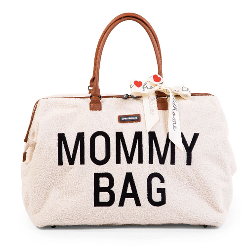 Childhome mommy bag - Teddy ecru